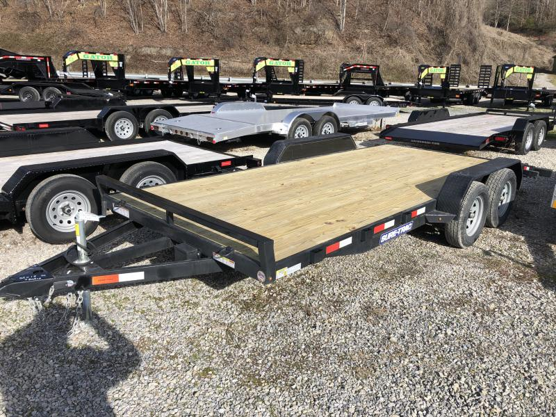2020 Sure-Trac 82x18 Wood Floor Car Hauler Car / Racing Trailer