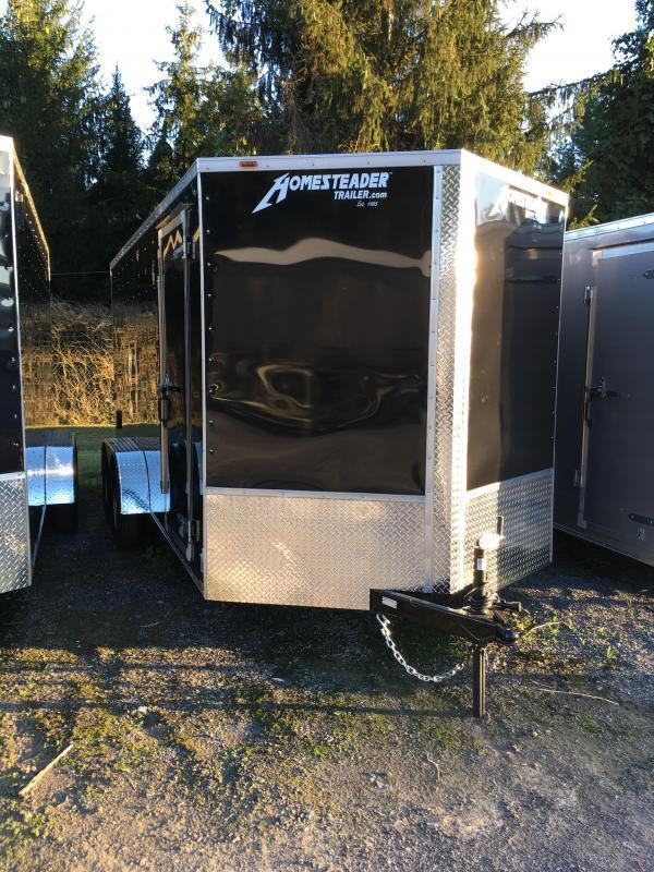 2020 Homesteader 7x16 Intrepid 6in extra ht 6.5 tall inside Enclosed Cargo Trailer