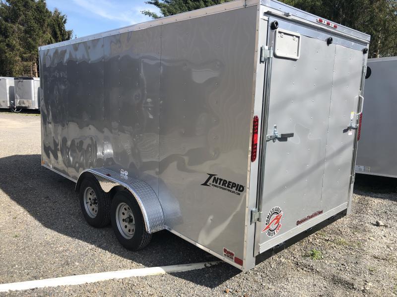 2020 Homesteader 7x16 Intrepid sd ramp 6in extra ht 6.5 tall inside Enclosed Cargo Trailer
