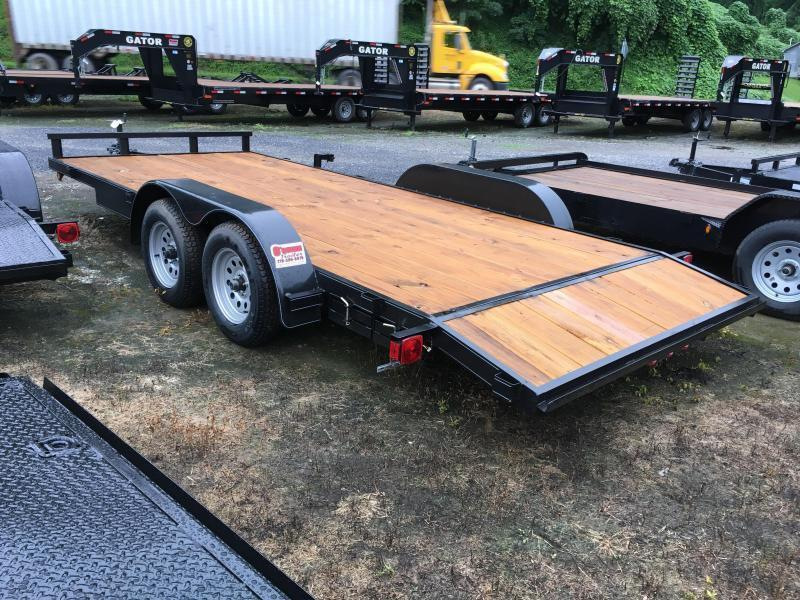 2020 Other 82x18 wood floor channel frame car hauler Car / Racing Trailer
