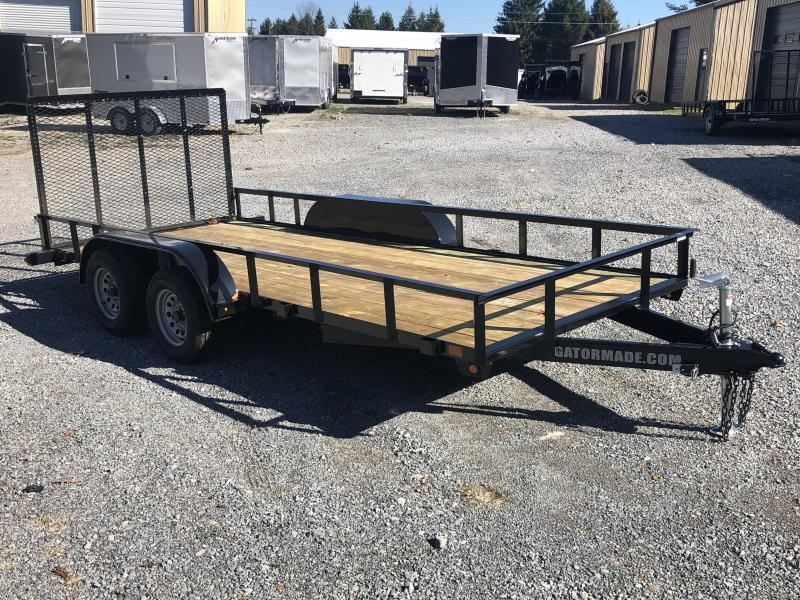 2020 Gatormade Trailers 76x16 v-series Utility-4 Trailer