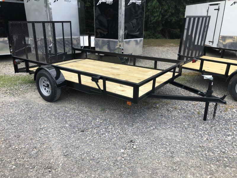 2020 Other (Not Listed) 76x12 gate HD Dovetail single axle Utility Trailer