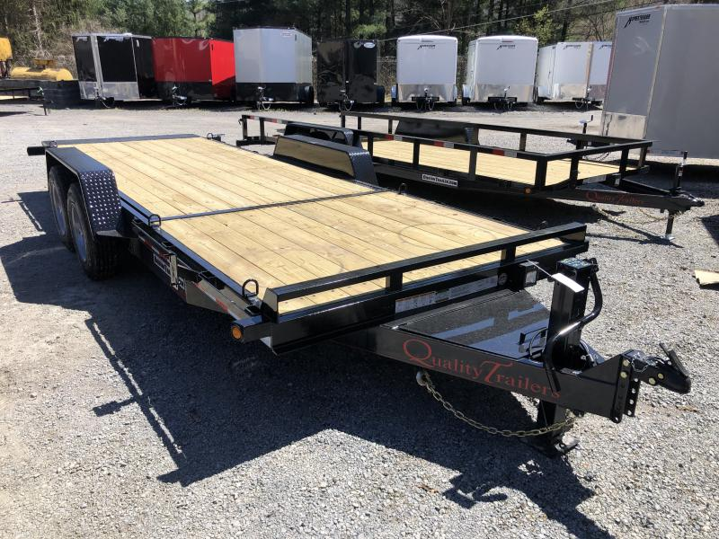 2020 Quality Trailers HD PRO 82x20 6+14 17K Tilt 17.5 18Ply Tires Equipment Trailer