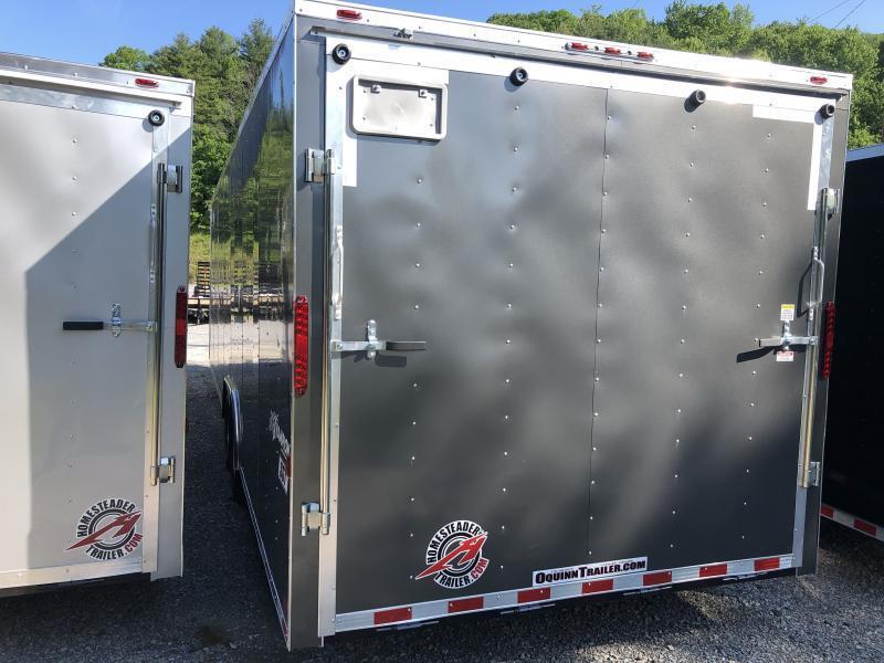 2020 Homesteader 8.5x28 Champion SGT Flat Nose 7'tall 5 ton car hauler Enclosed Cargo Trailer
