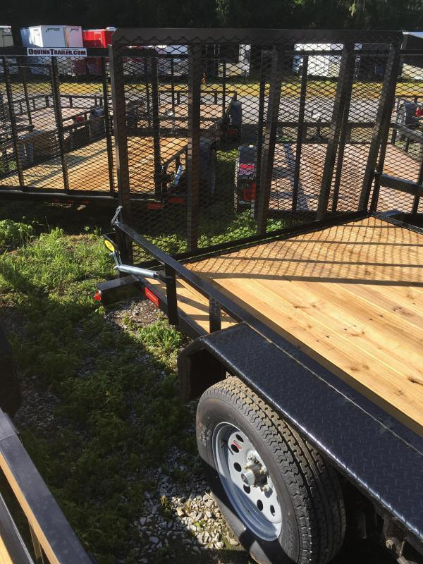 2020 Gatormade Trailers 82x16 Utility Trailer