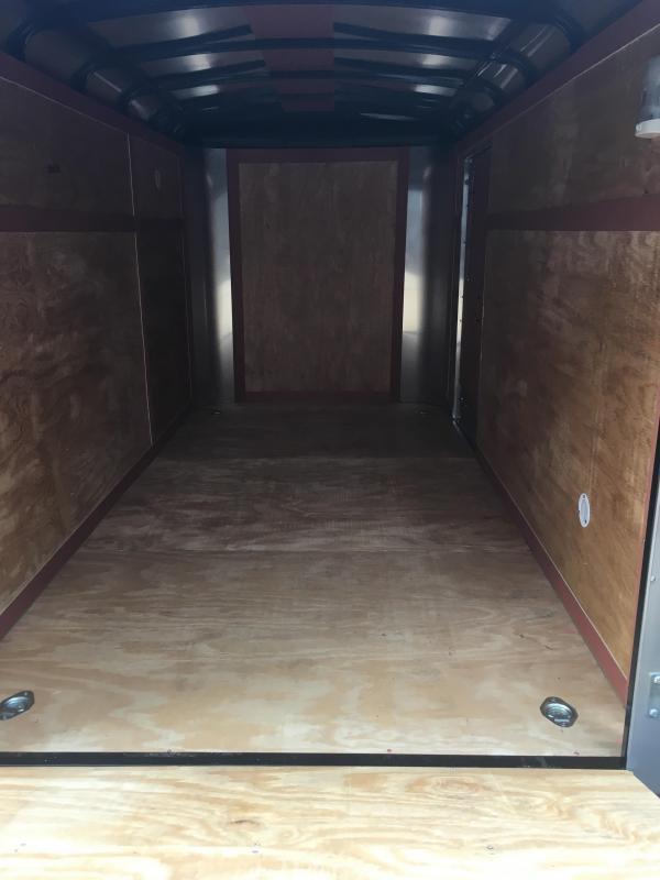 2020 Homesteader Inc. 6x12 challenger sd ramp Enclosed Cargo Trailer
