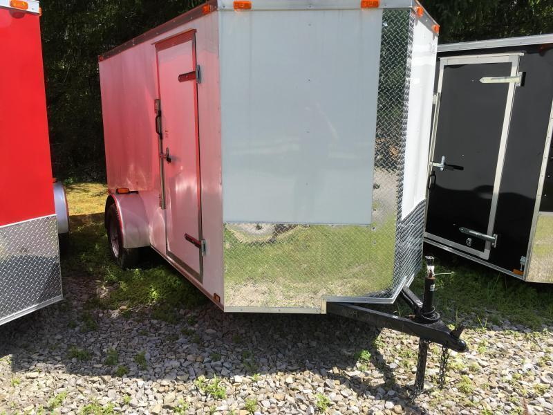 2020 Cynergy Cargo 6x12 vnose ramp Enclosed Cargo Trailer