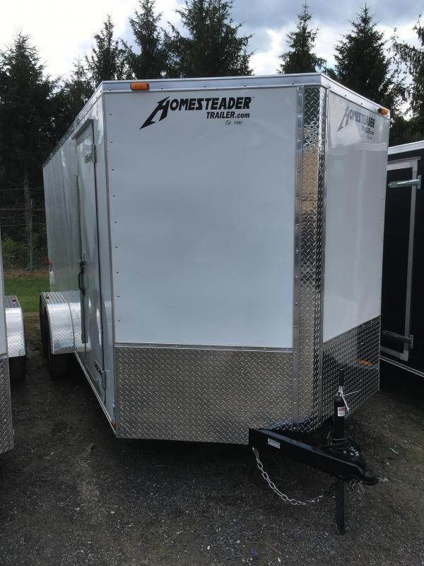 2020 Homesteader 7x16 Intrepid 6in extra height sd ramp Enclosed Cargo Trailer