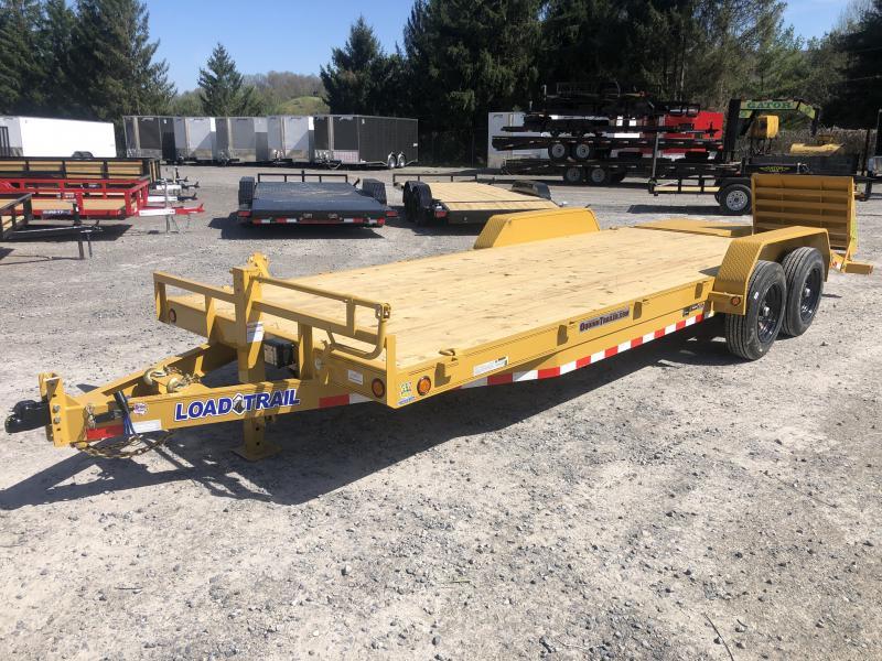 2020 Load Trail 83x22 8Ton 17+3 W/MAX RAMPS Equipment Trailer