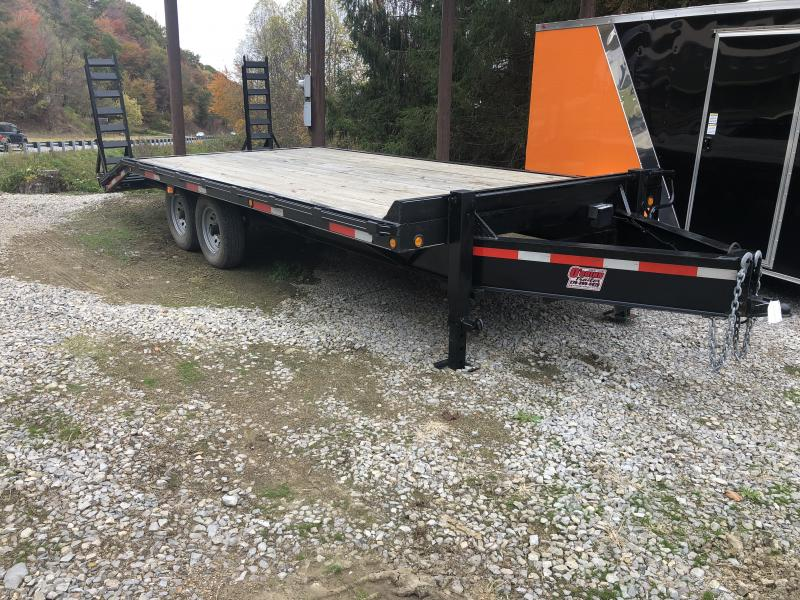 2016 Other Used 20ft Pintle 7ton deckover Equipment Trailer