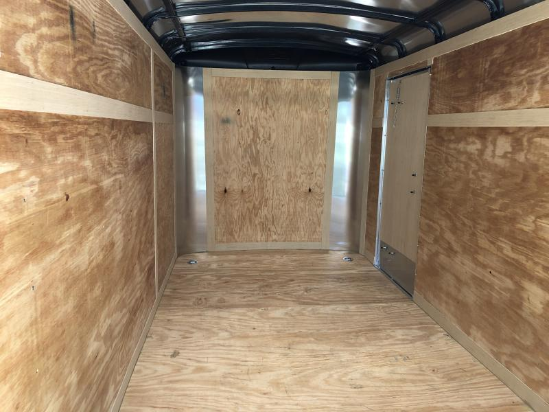 2019 Homesteader Inc. 6x12 Challenger Ramp single axle Enclosed Cargo Trailer