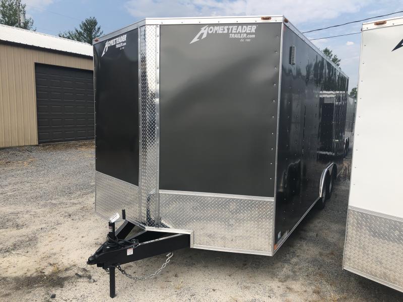 2020 Homesteader 8.5X20 7' tall Intrepid Car Hauler Enclosed Cargo Trailer