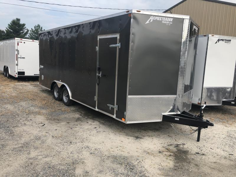 2020 Homesteader 8.5X20 7' tall Intrepid Car Hauler Enclosed Cargo Trailer