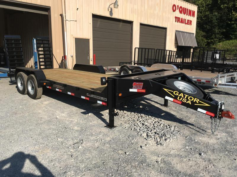 2020 Gatormade Trailers 82X20 17600GVWR AARDVARK Equipment Trailer