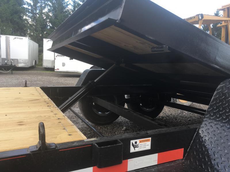 2020 Quality Trailers 82x20(6+14) 7ton Tilt bumper pull Equipment Trailer