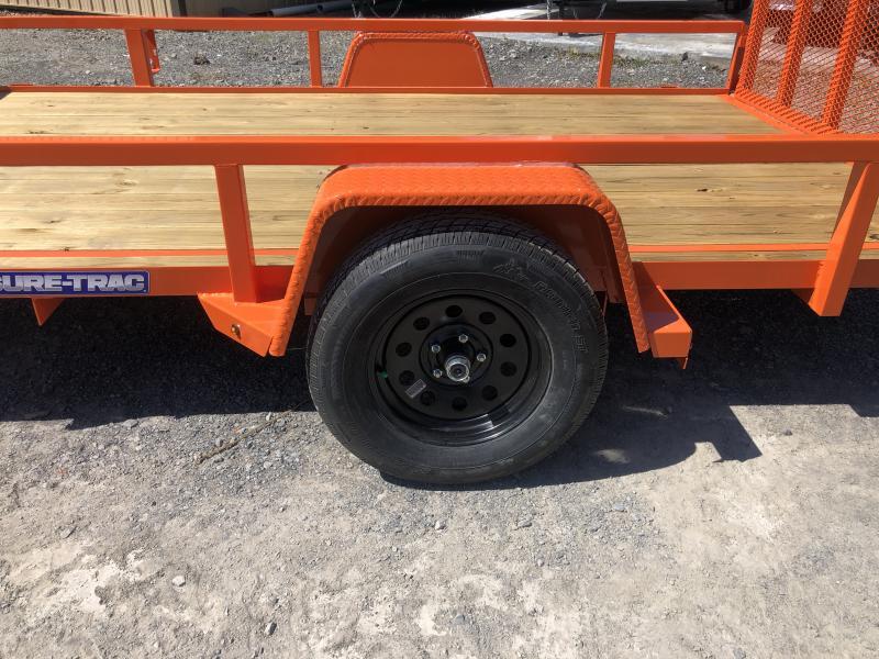 2020 Sure-Trac 82x12 Single Axle Tube Top Utility Trailer