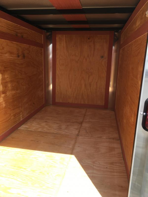 2020 Homesteader 5x8 fury swing rear door Enclosed Cargo Trailer
