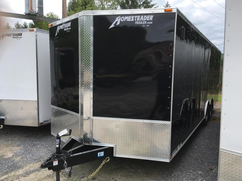 2019 Homesteader 824it intrepid 5 ton car hauler Enclosed Cargo Trailer