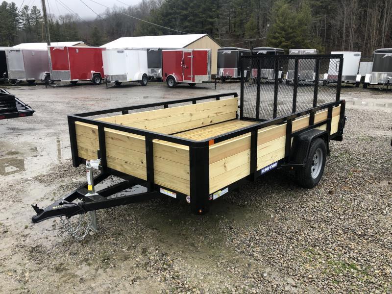 2020 Sure-Trac 82x12 Single Axle 3 Board High Side Utility Trailer