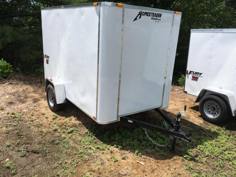 2020 Homesteader Inc. 6x10 Fury Double Door Only Enclosed Cargo Trailer