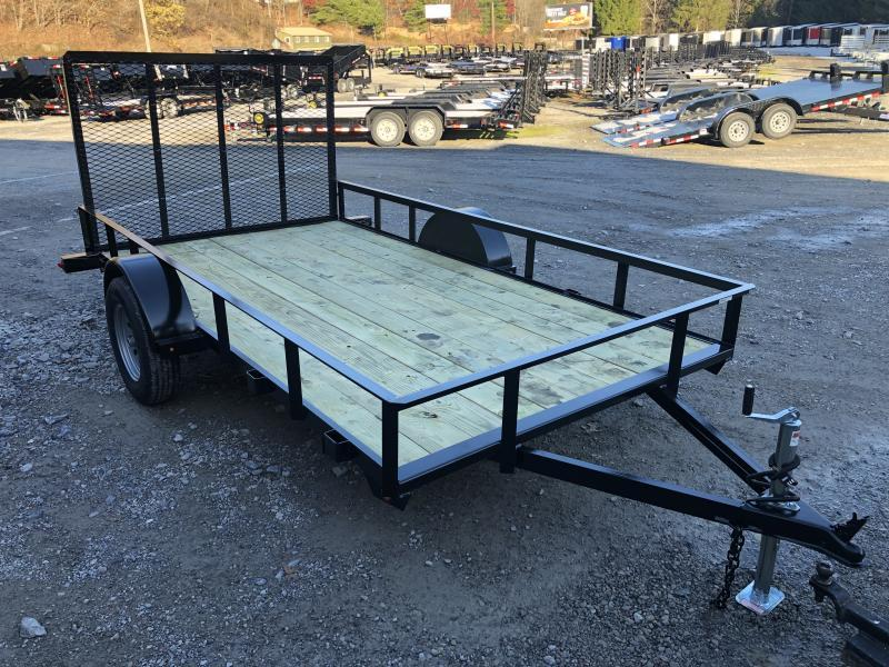 2020 Gatormade Trailers 76x12 gate v-series single axle Utility Trailer