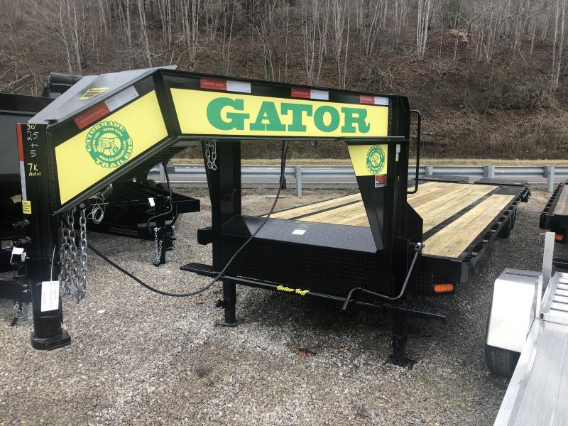 2020 Gatormade Trailers 30ft 8Ton Gooseneck big goliath ramps Equipment Trailer