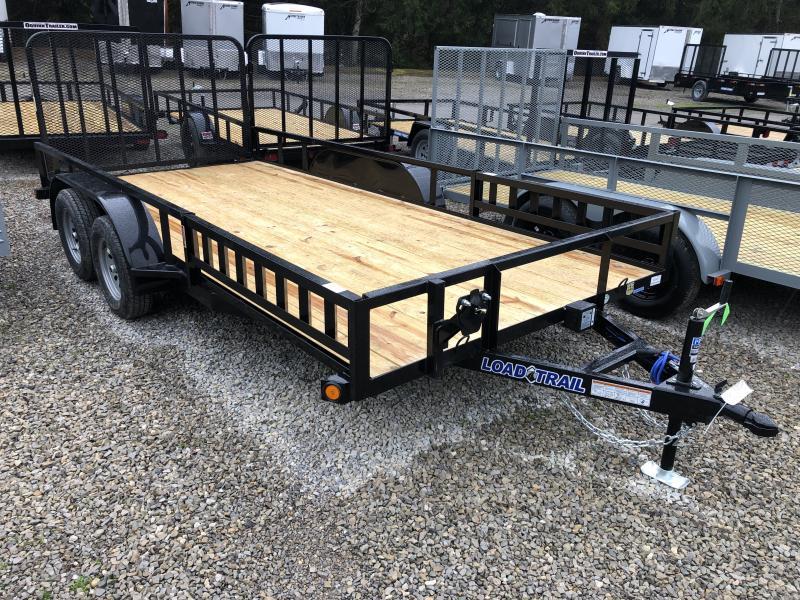 2020 Load Trail 83X16 Side Load Ramps w/Rear Gate Utility Trailer