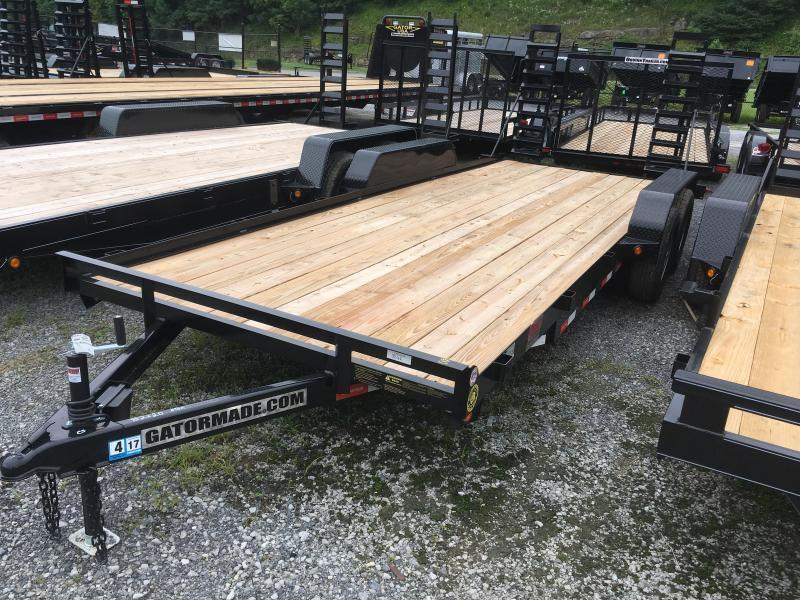 2020 Gatormade Trailers 20ft 5 ton Equipment Trailer