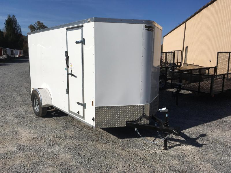 2019 Continental Cargo 6x12 vnose LE sd ramp door