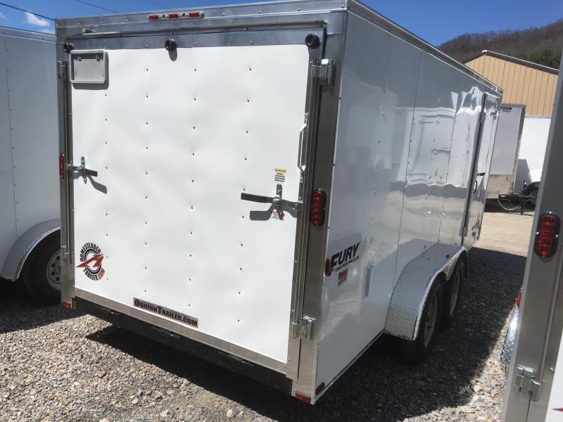 2020 Homesteader 7x16 Fury SD Ramp Enclosed Cargo Trailer