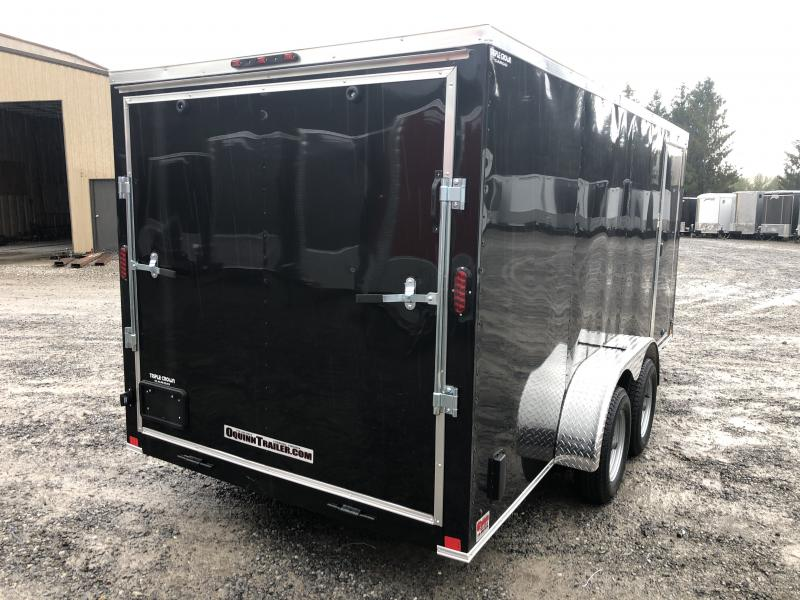 2020 Triple Crown 7x16 V-Nose sd ramp Enclosed Cargo Trailer