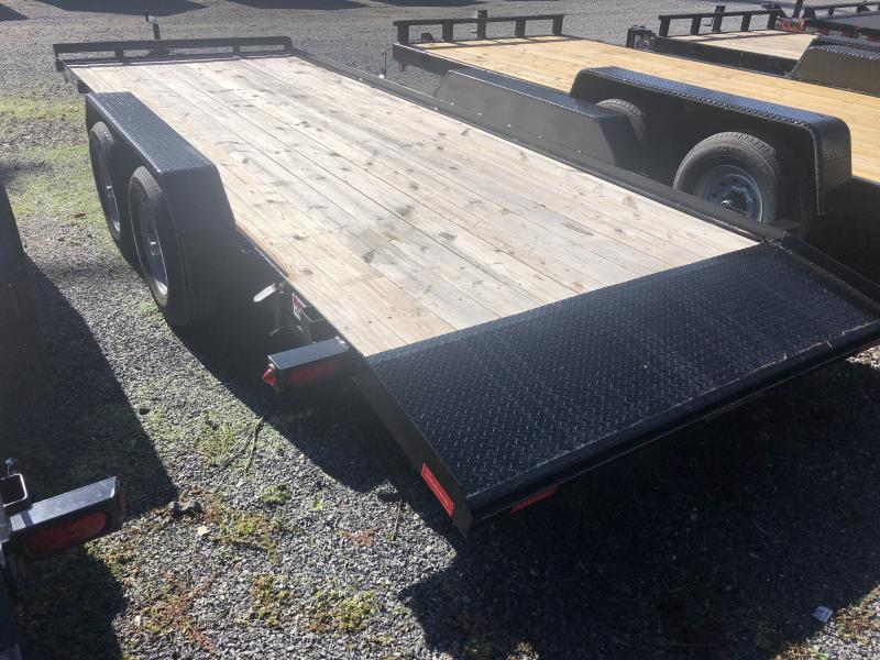 USED 2019 Gatormade Trailers 20ft 5ton dovetail wood car hauler Car / Racing Trailer