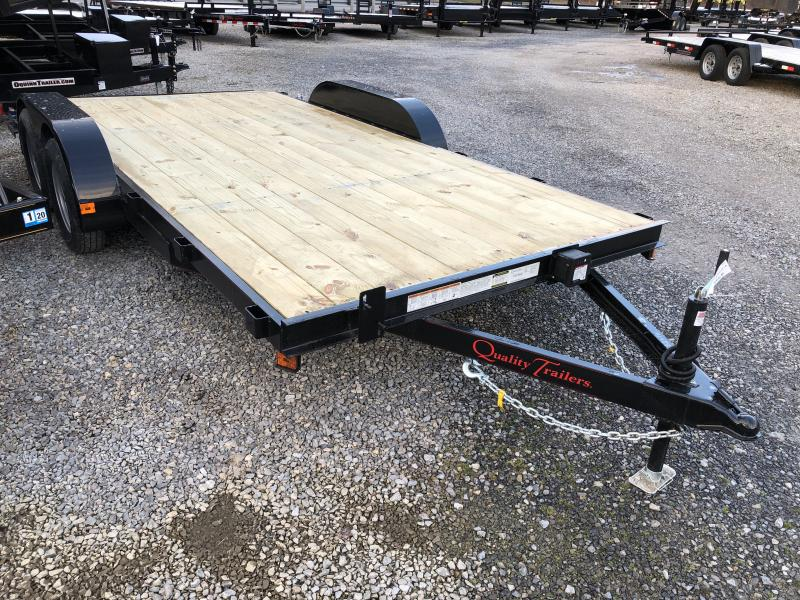 2019 Quality Trailers 82x16 wood car hauler Car / Racing Trailer