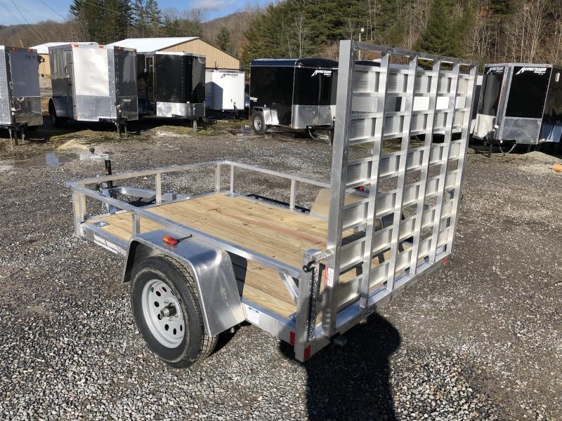 2020 Forest River Inc. 5.5x8 aluminum w/wood floor Utility Trailer