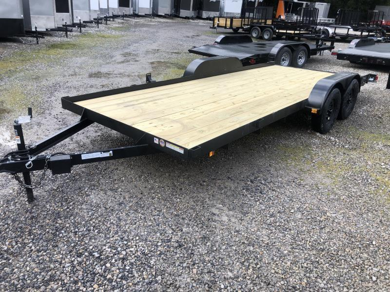 2020 Triple Crown 83x18 Wood Floor Car Hauler
