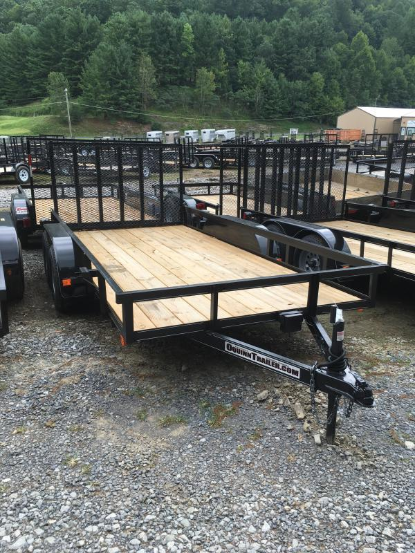2020 Other (Not Listed) 76X14 gate brake tandem Utility Trailer