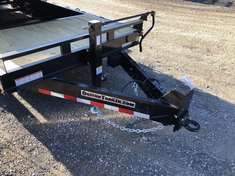 2020 Sure-Trac HD 82x22 4+18 Tilt 8Ton 8k axles 17.5 tires Equipment Trailer