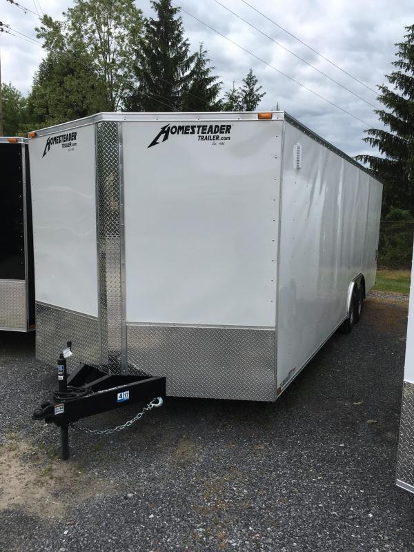 2020 Homesteader 8.5x24 intrepid 5 ton car hauler Enclosed Cargo Trailer