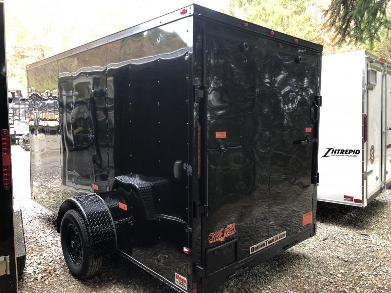 2020 Cynergy Cargo 6x12 vnose ramp black out advanced model Enclosed Cargo Trailer