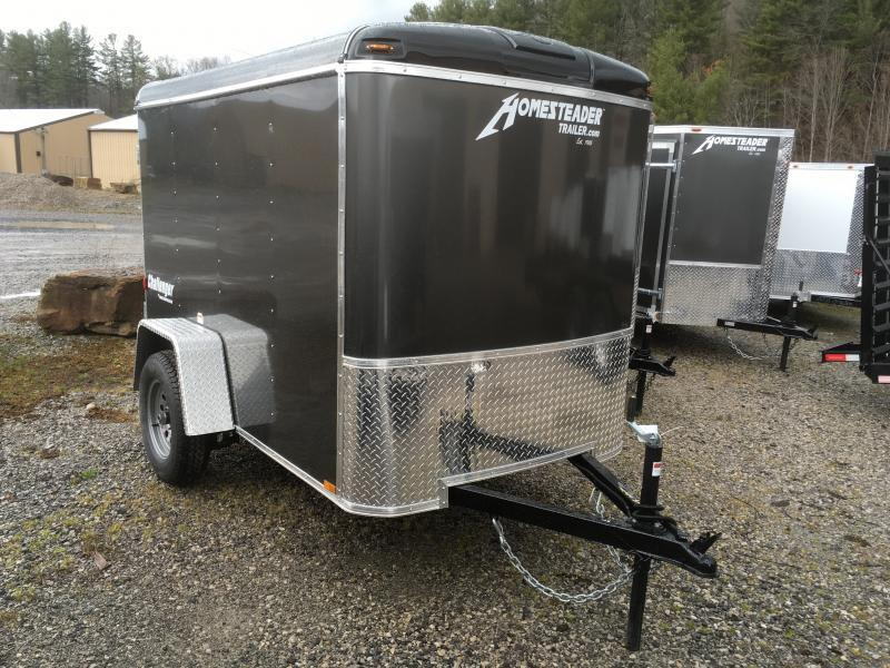 2020 Homesteader Inc. 5x8 challenger Swing door Enclosed Cargo Trailer