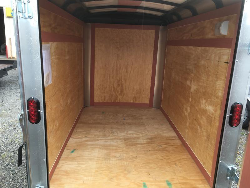 2020 Homesteader Inc. 5x8 challenger Swing door Enclosed Cargo Trailer