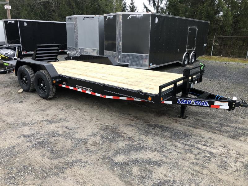 2020 Load Trail 83x20 7Ton 17+3 W/MAX RAMPS Equipment Trailer