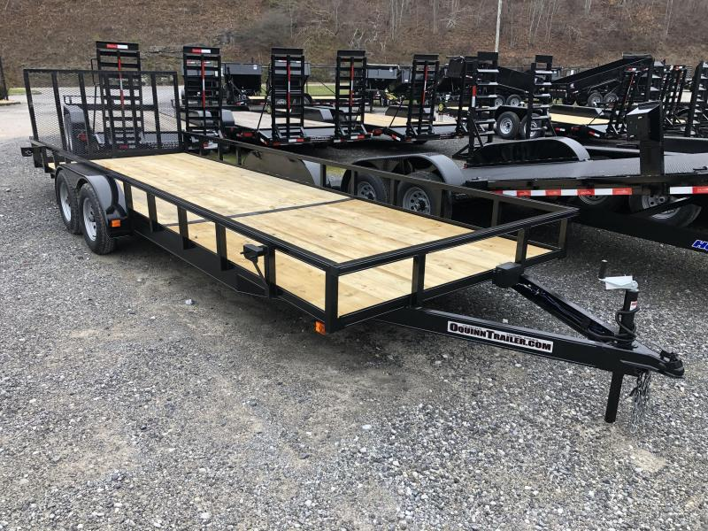 2020 Other 82x22 tube top utility with gate and brake Utility Trailer
