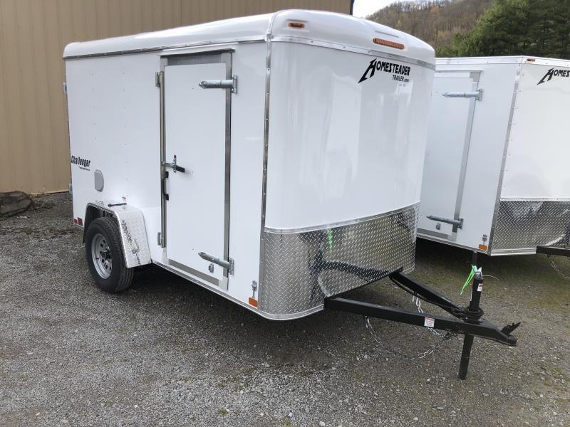 2020 Homesteader Inc. 6x10 Challenger SD Double Door single axle Enclosed Cargo Trailer