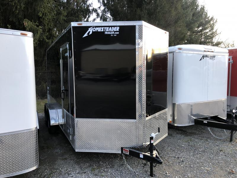 2020 Homesteader 7x16 Intrepid OHV pkg 1ft extra height Enclosed Cargo Trailer