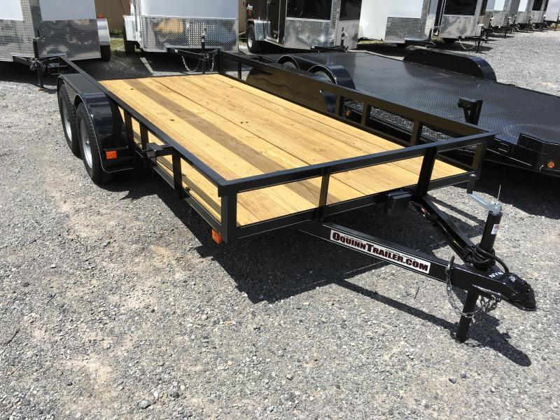 2020 Other 76x14 tandem utility no gate with brake Utility Trailer