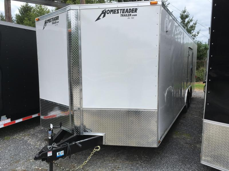 2020 Homesteader Intrepid 24ft 5ton car hauler with escape door Enclosed Cargo Trailer