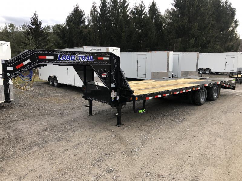 2020 Load Trail 25' 20+5 Gooseneck Tandem Dual w/Max Ramps Equipment Trailer