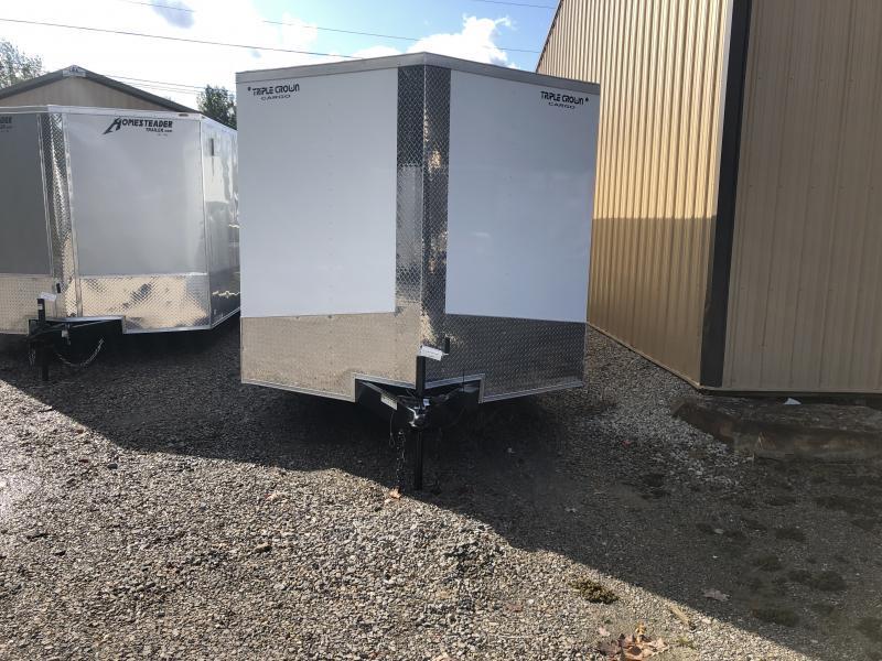 2020 Triple Crown Cargo 8.5x24 5 ton car hauler Enclosed Cargo Trailer