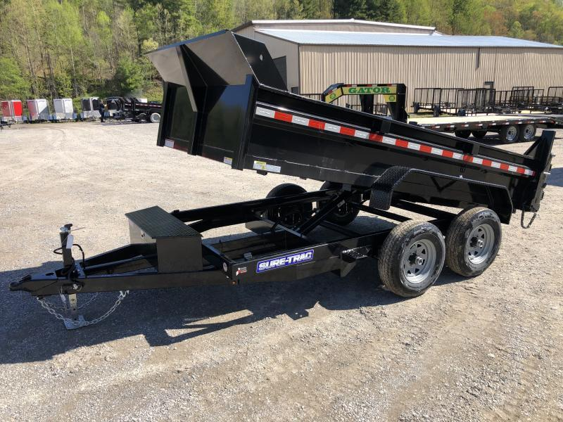 2020 Sure-Trac 6X12 5TON Low Profile Dump w/Ramps Dump Trailer